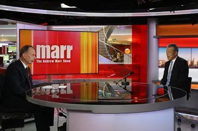 """刘晓明大使批准BBC旗舰节现在""""安德鲁·马尔访谈""""直播专访"""