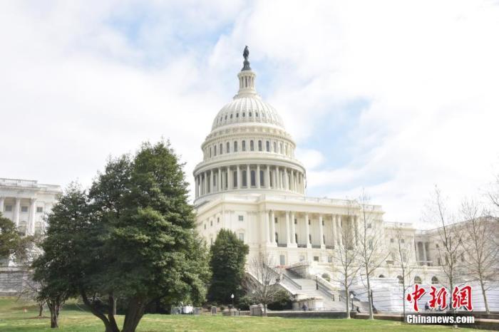 资料图:美国国会大厦。中新社记者 沙晗汀 摄
