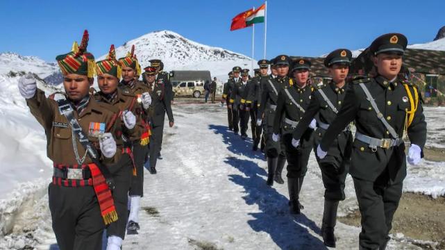 印军反复向解放军挑衅