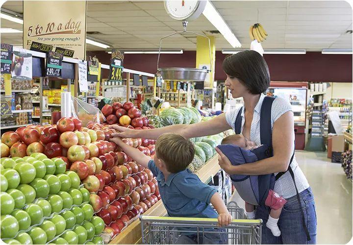 【1-3岁】这样带孩子逛超市,早教的钱都省了