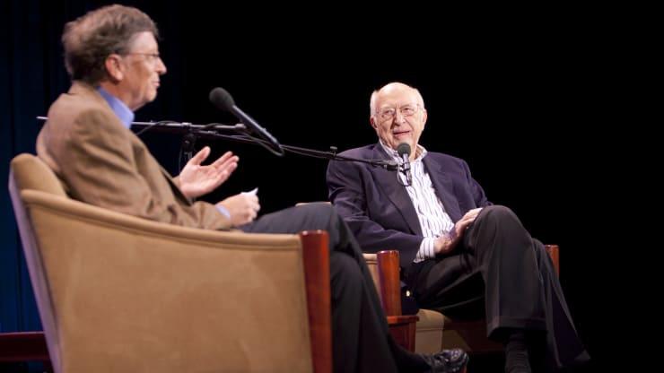 94岁父亲去世 比尔盖茨悼念:他是我努力成为的一切