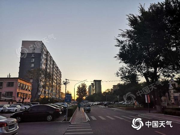 """今日北京陣風6至7級 未來3天晴天""""唱主調"""""""