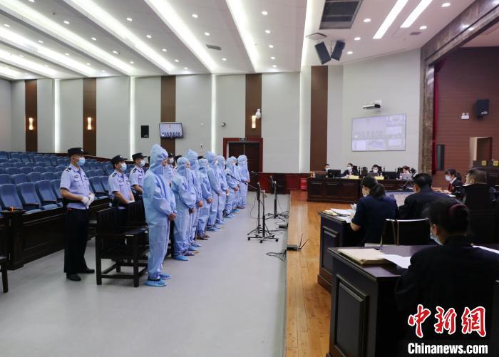 宜昌市中級人民法院嚴格落實防控要求 石志宏 攝