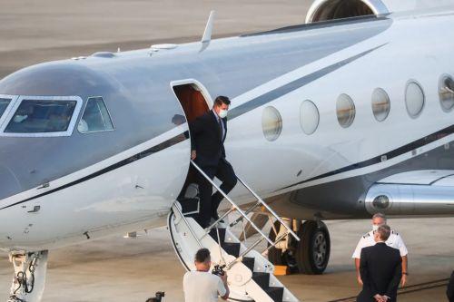 ▲美国副国务卿克拉奇17日抵达台湾