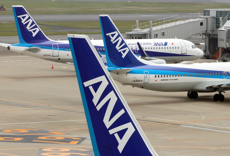 日本將允許更多外國人進入本國 全日空航空恢復部分中國航線圖片