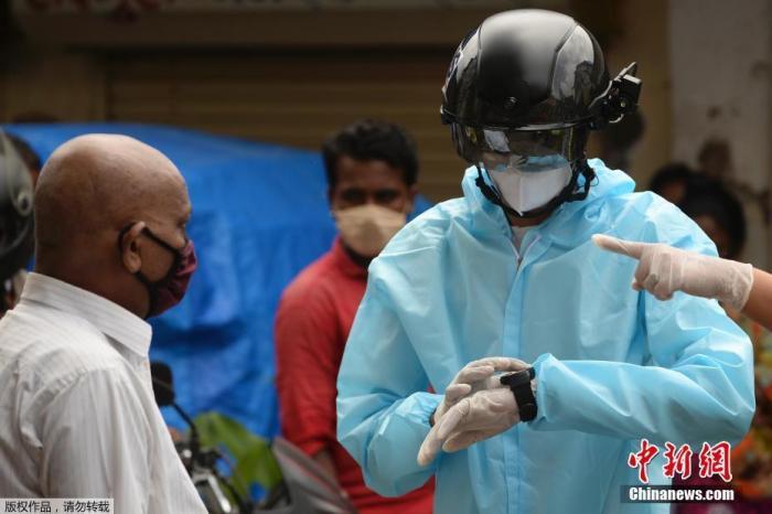 【蜗牛棋牌】英媒:印度新冠疫情直逼美国 实地情况或比想象的更糟