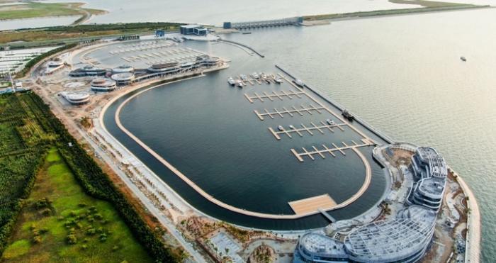 欢乐海游艇码头。主办方供图