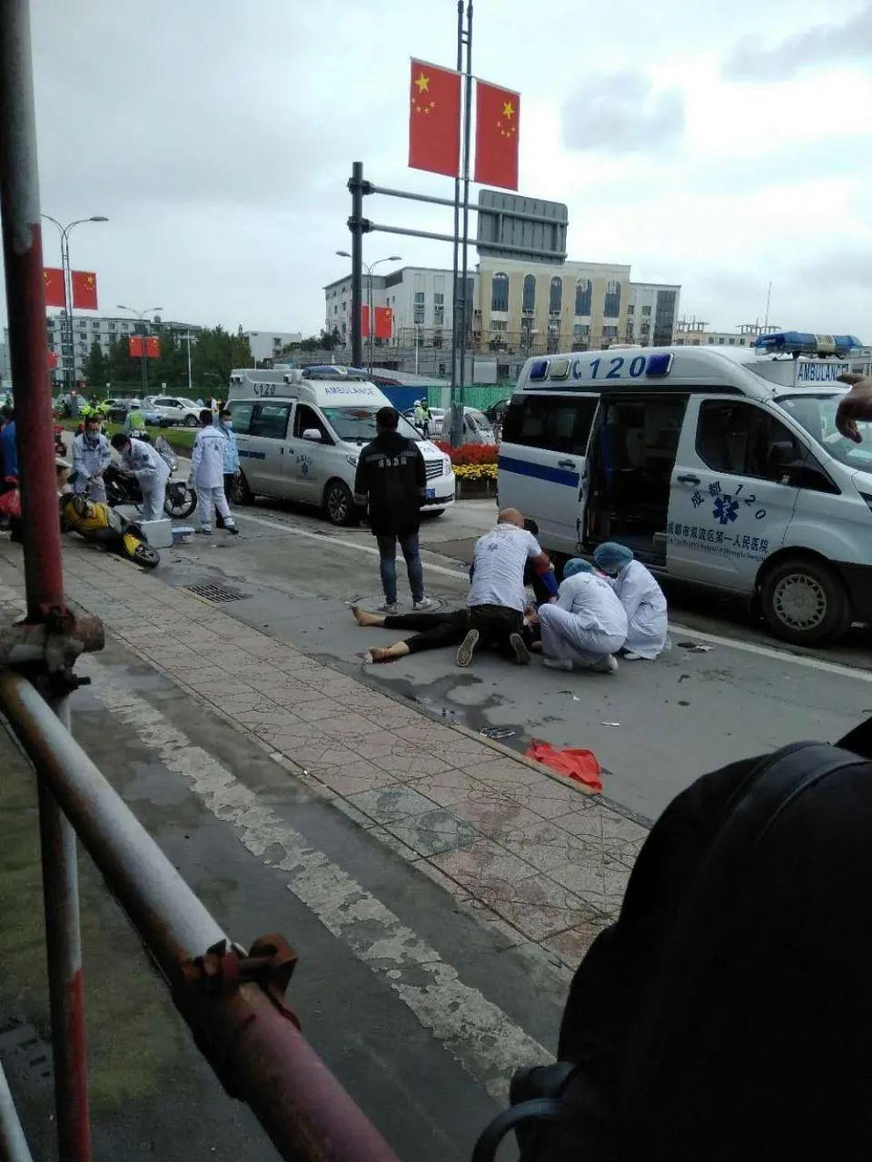 成都双流车祸致1死7伤 车祸事故原因正在进一步调查中
