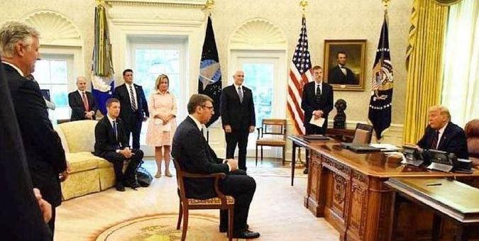 塞尔维亚总统:我在白宫捍卫了和中国的关系