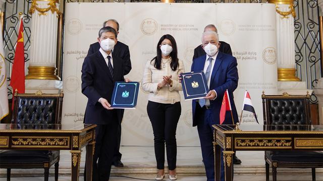 中埃签署协议,汉语正式进入埃及中小学教育体系