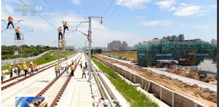 合安高铁启动热滑试验 预计年底开通图片