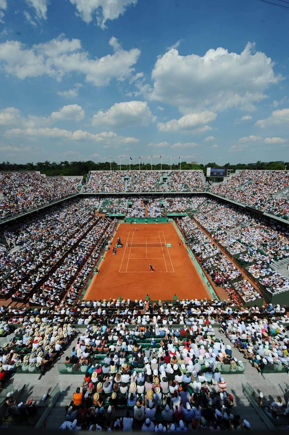 法網每天允許11500名觀眾入場球員每