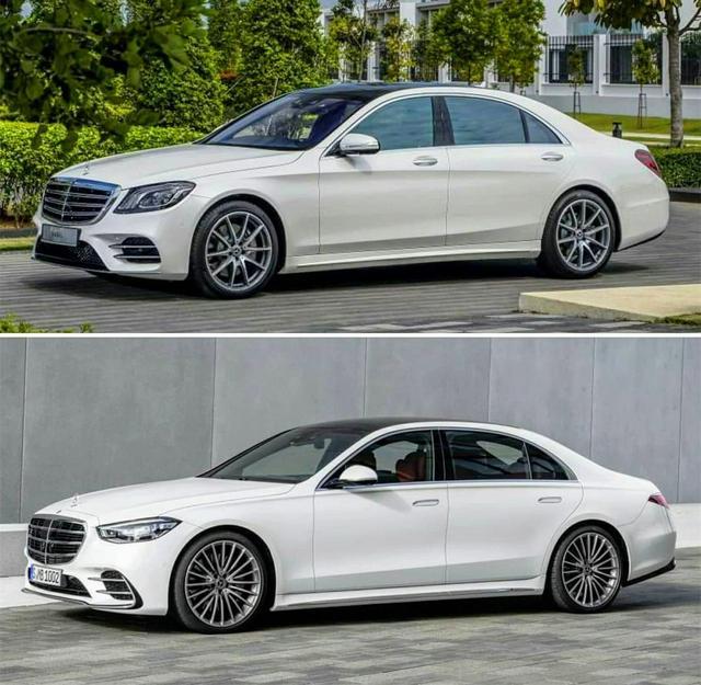新老奔驰S级对比 你最喜欢哪一代奔驰S级?