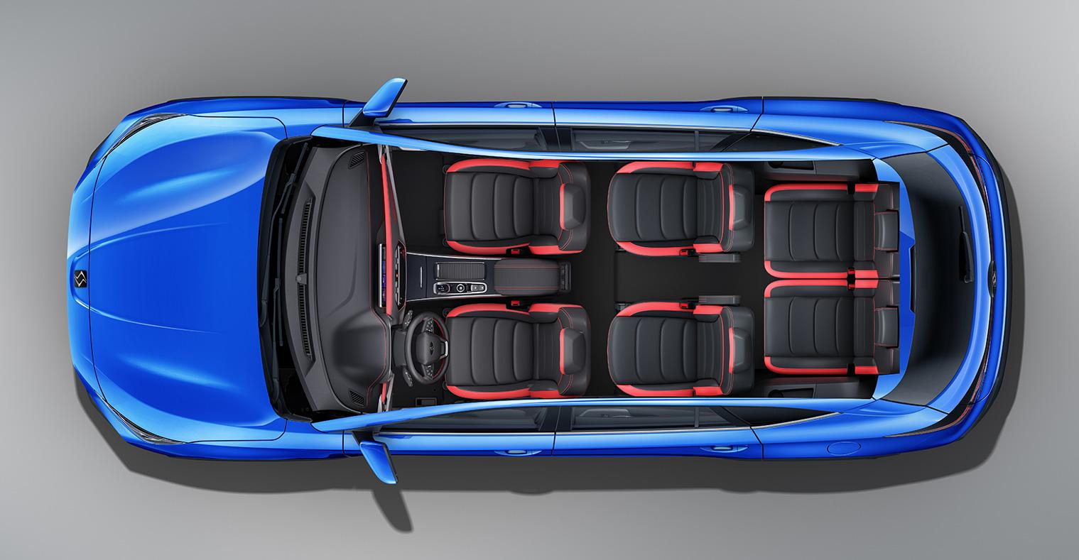 一家人出游 这两款6座SUV很适合 空间大最低7.9万起
