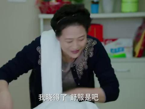 我的前半生:薛甄珠给老崔按摩,老崔哭了出来,对她说谢谢