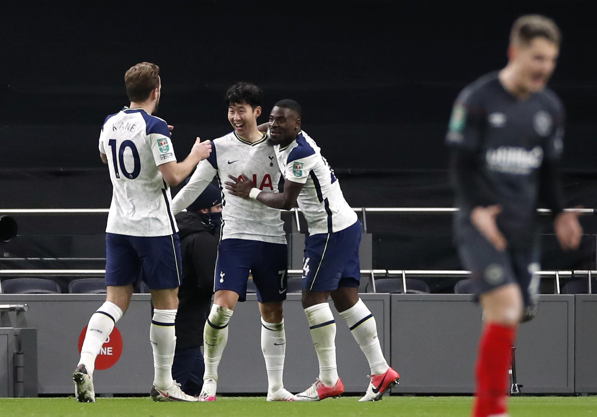 两球胜英冠球队 热刺晋级联赛杯决赛