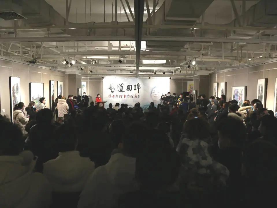 艺道回眸——杨国新绘画作品展在时代美术馆隆重开幕!