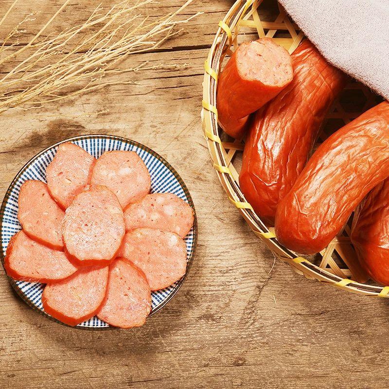 国产香肠太牛逼,被称为哈尔滨之光的红肠,完胜美国热狗和德国香肠