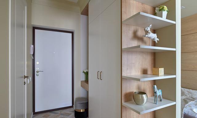 这个只有33㎡的出租屋,不仅功能区齐全,还有充足的收纳空间