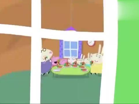 动漫:苏西家玩具太多,兔姐姐不小心摔倒,兔母亲代替她工作1