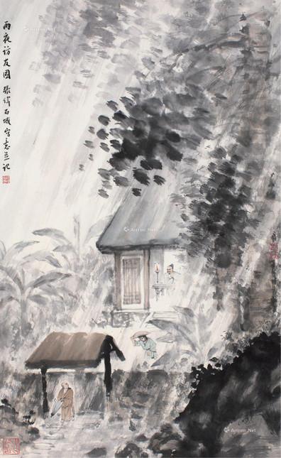 张伟石城国画作品在上海嘉禾拍卖2020年秋季暨十周年庆拍卖会详情