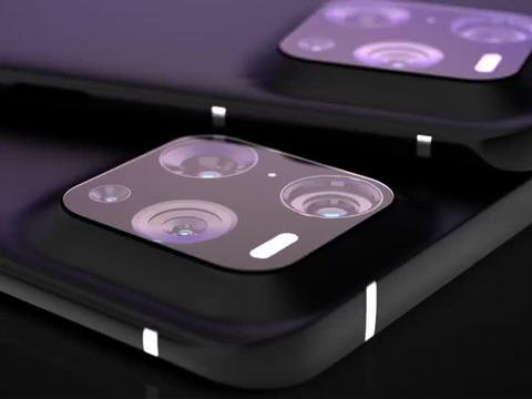 vivo V22 Pro 渲染:独特的相机设计和背部纹理,个性十足