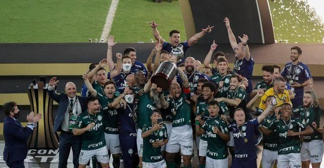 南美解放者杯-布雷诺头球绝杀 帕尔梅拉斯解放者夺冠!