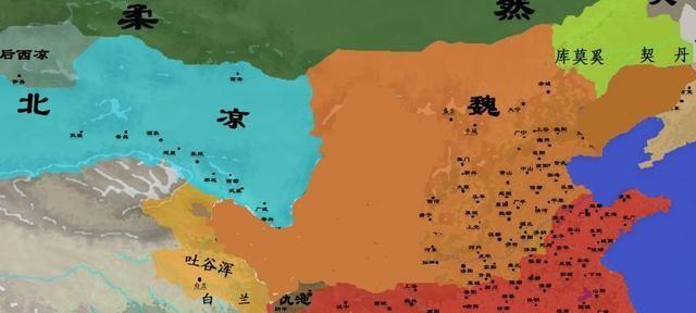北燕如何在北魏和柔然的夹击下存活