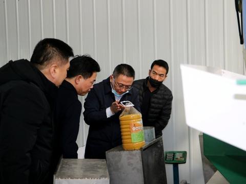 盂县县委书记梁海昌调研企业复工复产及安全生产工作