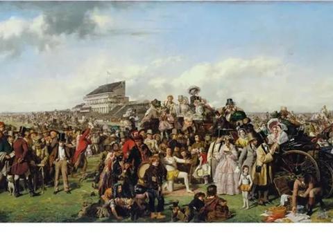 法国画家马奈,创作的《隆尚的赛马》,是一生当中的艺术瑰宝