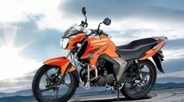 豪爵全能战将摩托车,百公里油耗低至1.6L,售价八千,升级国四