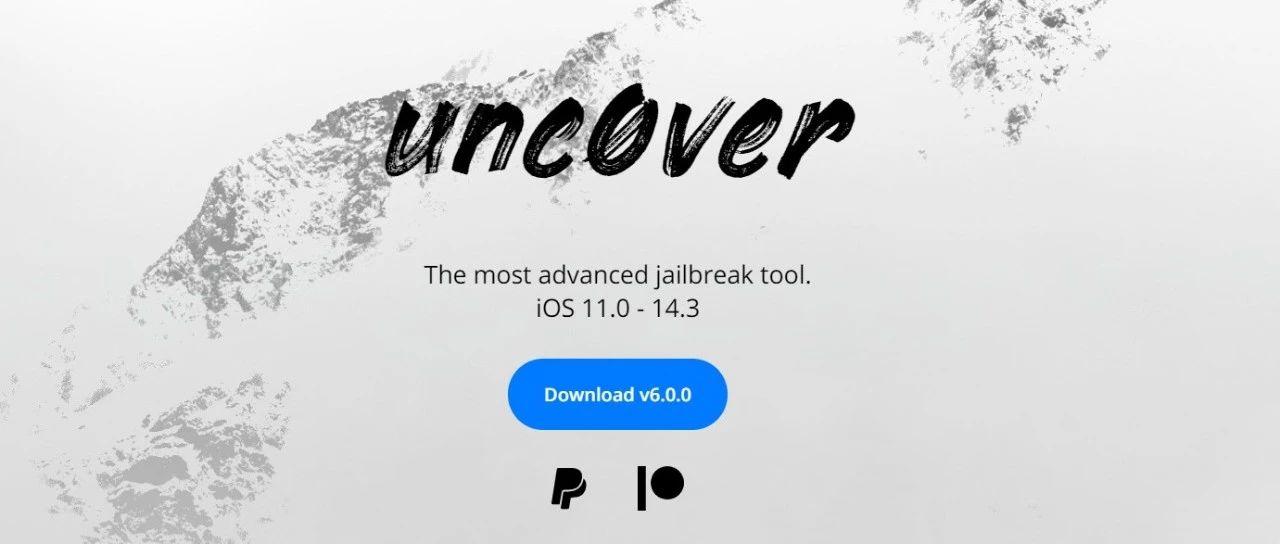 unc0ver 推出 6.0.0 越狱工具:可破解运行 iOS 14.3 的苹果设备