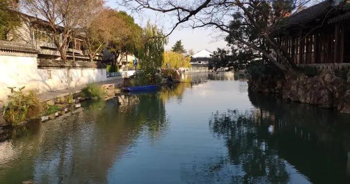苏州沧浪亭水质提升工程完工,加装夜间特色景观带