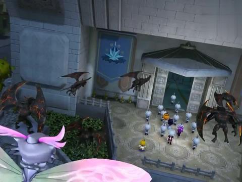 猪猪侠:一群蝙蝠怪来袭,小呆呆把它们引到大仓库,瞬间冰封住!
