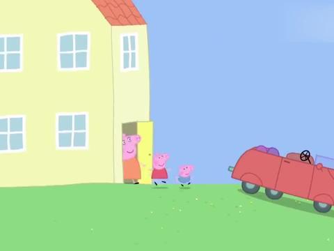小猪佩奇:秋天到啦,佩奇一家去郊游,他们穿上了厚实的秋装