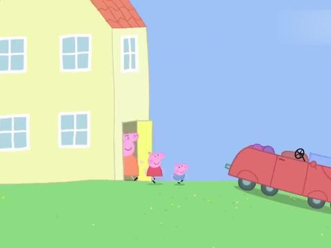 小猪佩奇:秋天到啦,佩奇一家换上秋装,准备一起去郊游