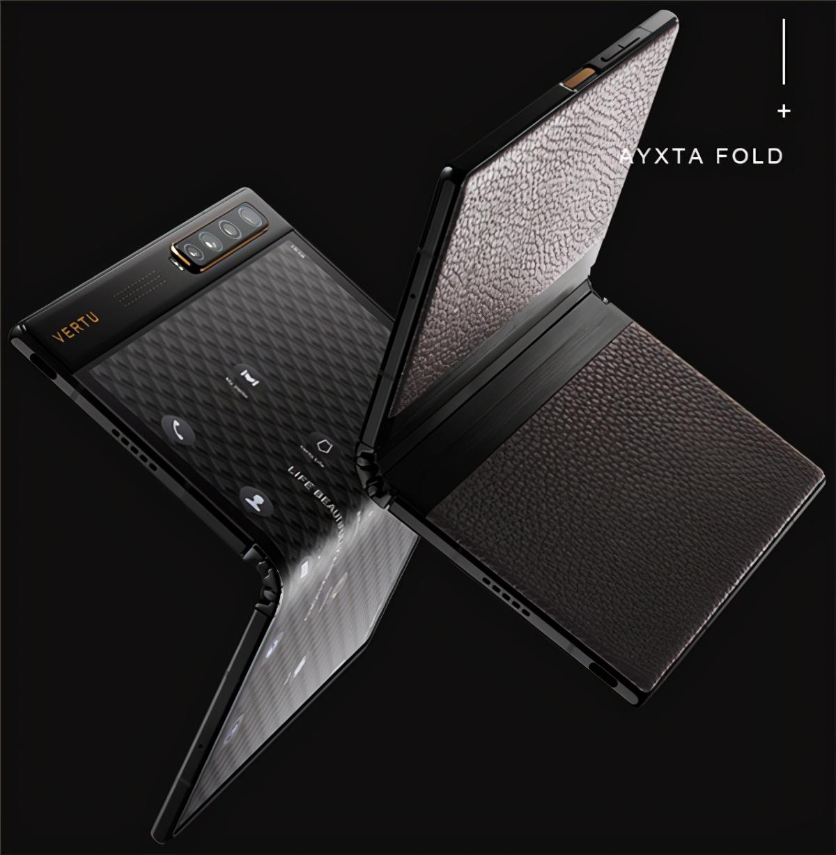Vertu首款折叠屏手机来了!网友:华为Mate X2不贵了