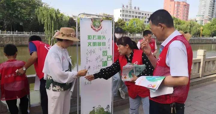 十大河湖卫士系列报道(6)王珂琪:组织巡河护河活动70余次,2000余人参加