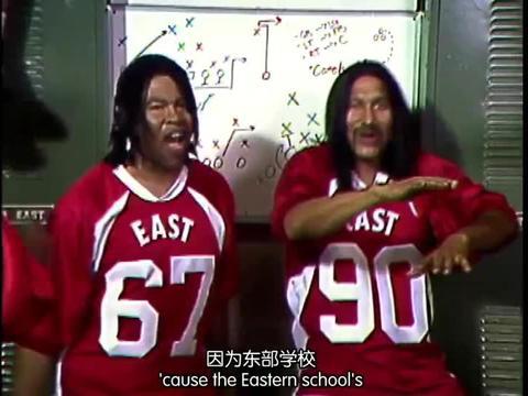 黑人兄弟:千人一面,基和皮尔两个人,演出一整支橄榄球队的感觉