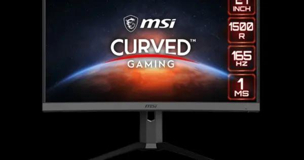 微星发布新款曲面显示器MAG272CQP:2K/165Hz