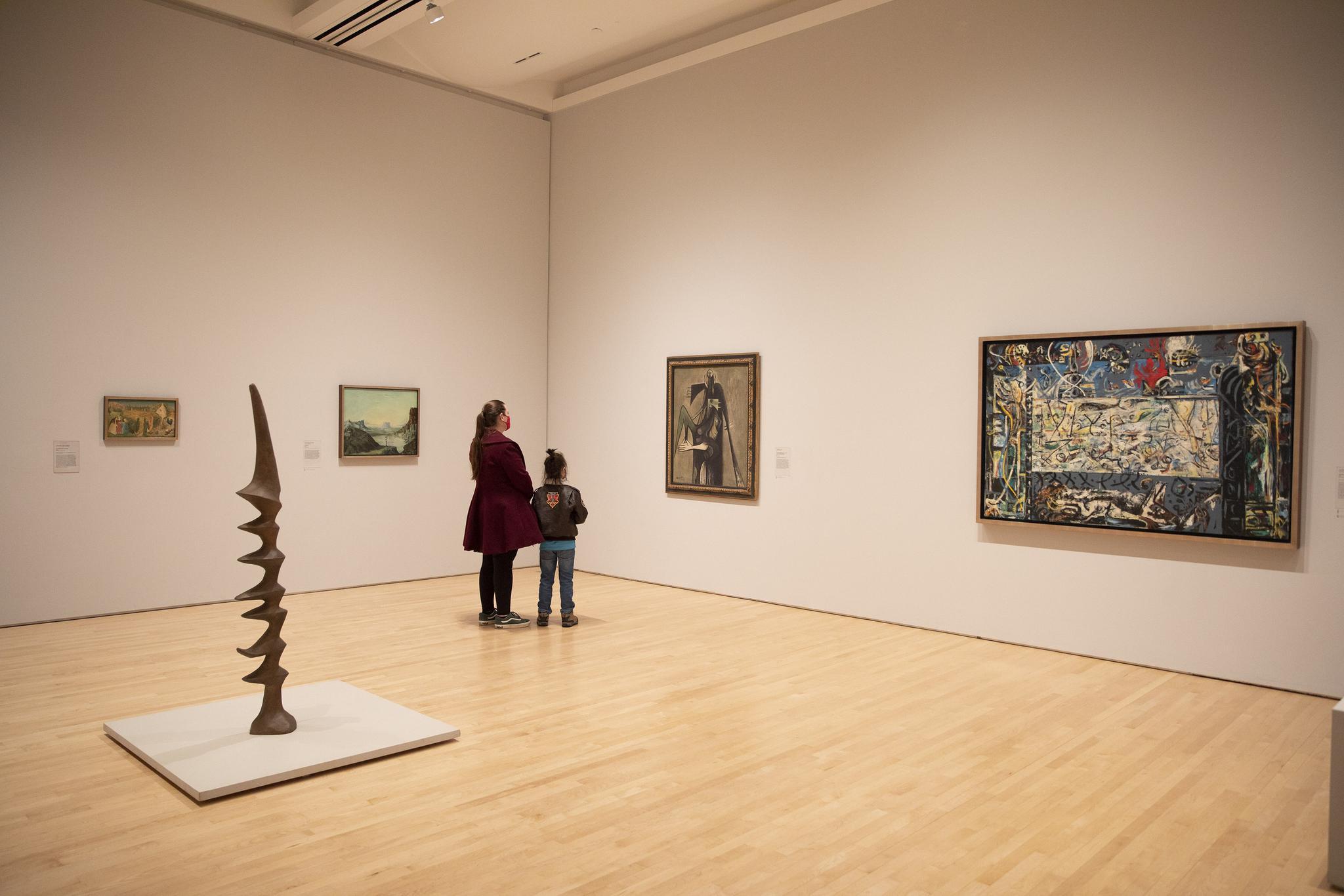 重新开放的旧金山现代艺术博物馆