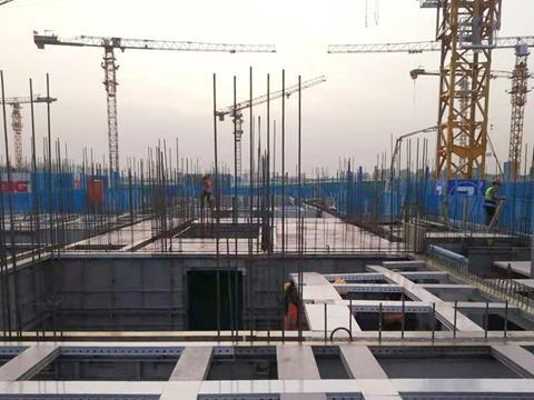 北京古月佳园置换房项目装配式施工热火朝天,位于通州区潞城镇
