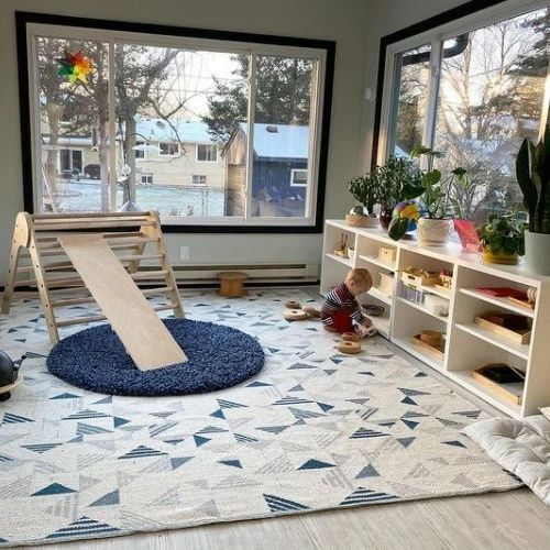 Ins爆火的蒙氏教育儿童房,为孩子打造自由探索空间