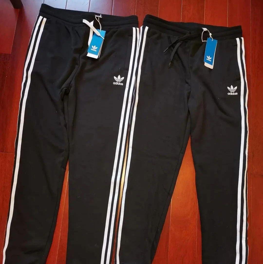 专柜买的同款同码阿迪达斯裤子,配饰不同,长度不一样…