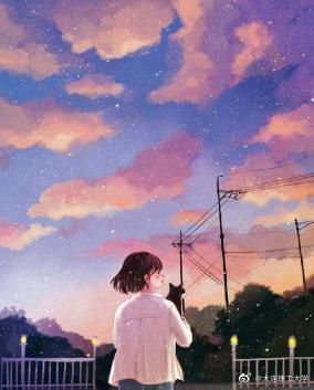 原来最暗的天空 总有最闪烁的星星 为唤不回的 为做不到的……