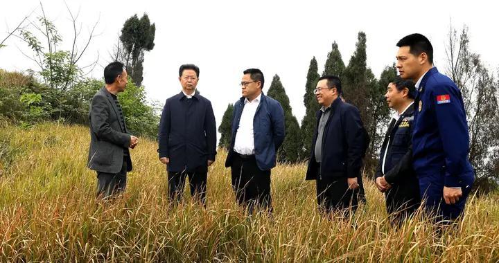 张昭国清明节前带队督导调研安全生产工作