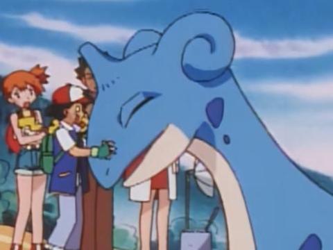 《宝可梦》再次邂逅拉普拉斯,小智又双叒一次获得精灵的蛋?