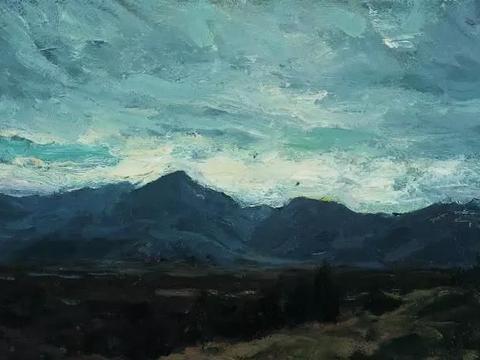 中央美术学院绘画系靳尚谊19幅油画风景欣赏