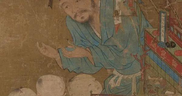 明代宫廷画家的画技——《卖货郎图轴》赏读