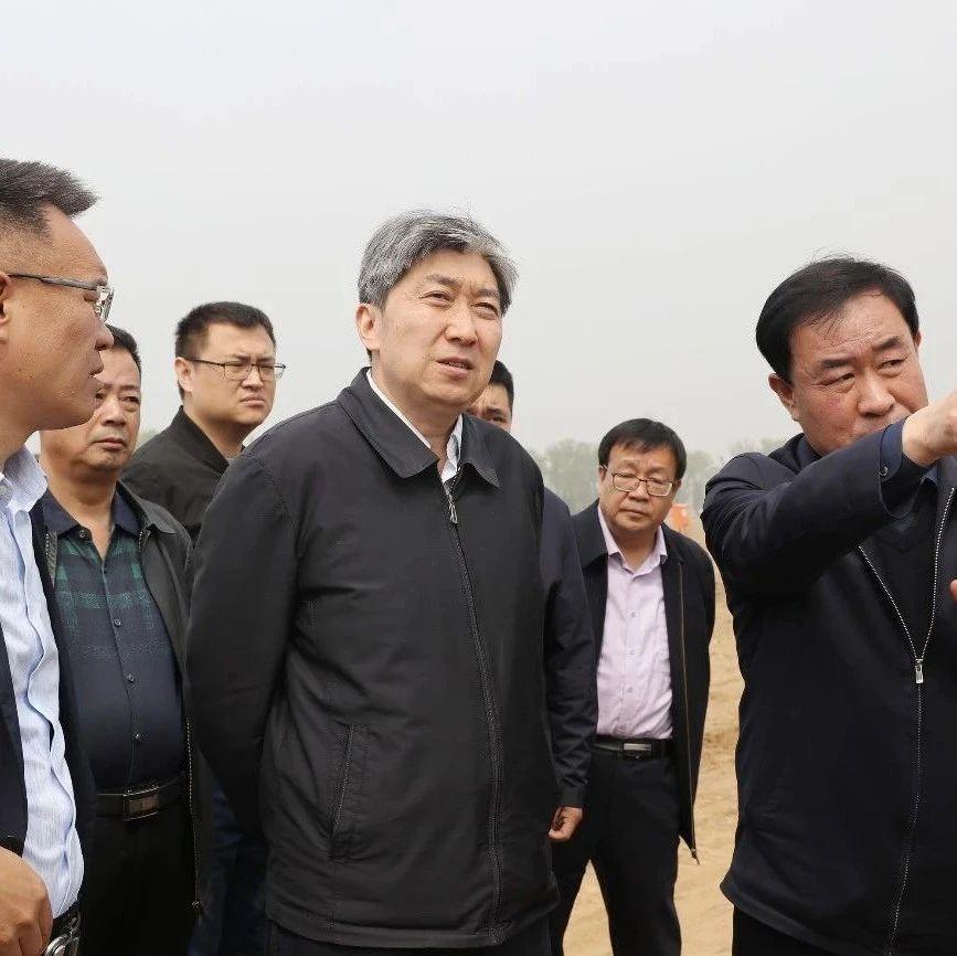 朱晓东在忻州经济开发区督导项目建设
